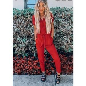 NWT LUCY LOVE JUMPSUIT